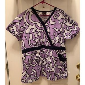 EckoRed  Scrub Top